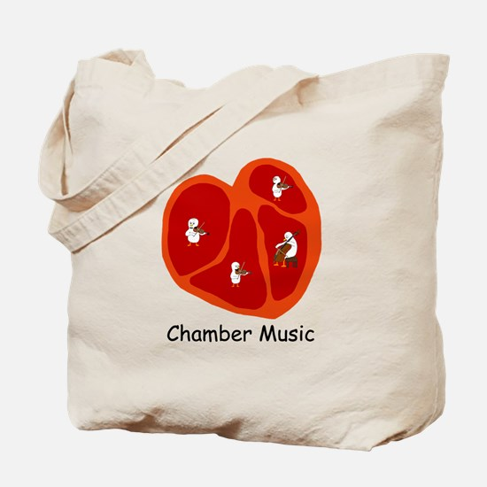Chamber Music Tote Bag