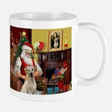 Santa's Yellow Lab #7 Mug
