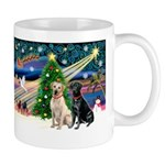 Xmas Magic/2 Labs (Y+B) Mug