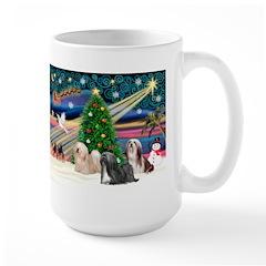 XmasMagic/3 Lhasas Large Mug