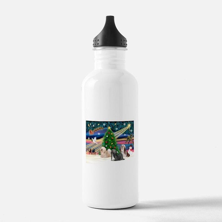 XmasMagic/3 Lhasas Water Bottle