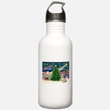 XmasMagic/ Lhasa Apso Water Bottle