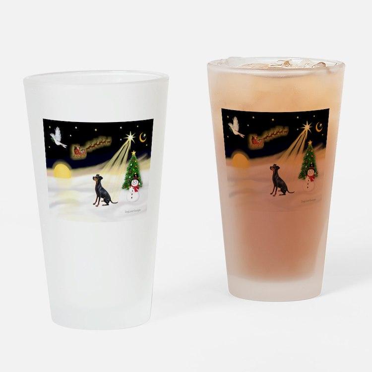 Night Flight/Manchester Drinking Glass