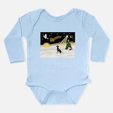 Night Flight/Manchester Long Sleeve Infant Bodysui
