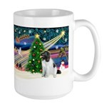 Xmas Magic & Newfie Large Mug