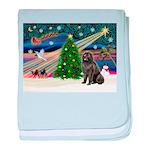 Xmas Magic/Newfie (#2) baby blanket