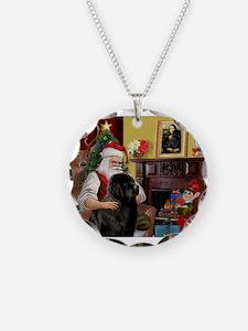 Santa's Newfie Necklace