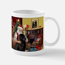 Santa's Newfie Small Mugs