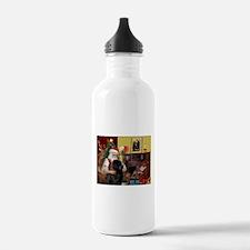 Santa's Newfie Water Bottle