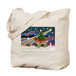 XmasStar/Nova Scotia dog Tote Bag
