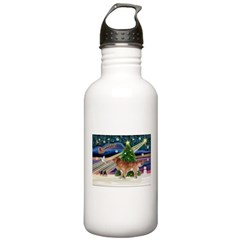 XmasStar/Nova Scotia dog Water Bottle