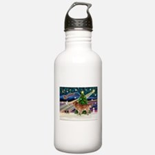 XmasStar/Nova Scotia dog Water Bottle