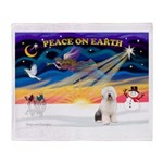 XmasSunrise/OES #3 Throw Blanket