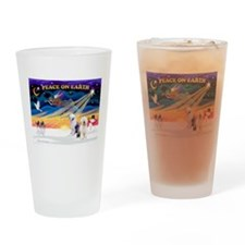 XmasSunrise/ 2 OES Drinking Glass