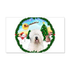 Old English Sheepdog Wall Decal