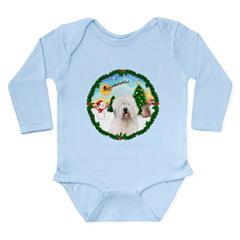 Old English Sheepdog Long Sleeve Infant Bodysuit