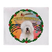 XmasMusic 3/OES #3 Throw Blanket
