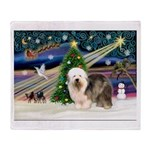 Xmas Magic & OES #5 Throw Blanket