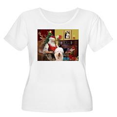 Santa's Old English #5 T-Shirt
