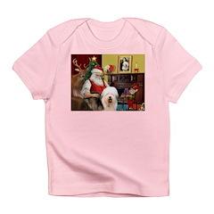 Santa's Old English #5 Infant T-Shirt