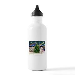 XmasMagic/Old English #6 Water Bottle
