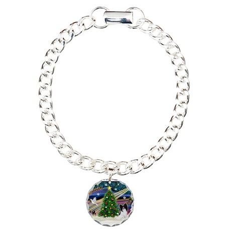 Xmas Magic/Papillon (#1) Charm Bracelet, One Charm