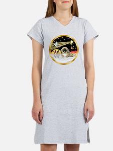 Wisemen/Pekingese Women's Nightshirt