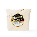 Wisemen/Pekingese Tote Bag