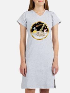 Night Flight/Pekingese Women's Nightshirt