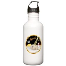 Night Flight/Pekingese Water Bottle
