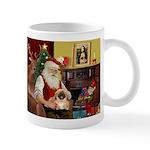 Santa's Pekingese (#1rd) Mug