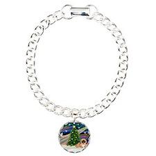 XmasMagic/Pekingese (red) Bracelet