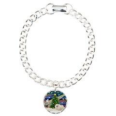 XmasMagic/Pekingese (4w) Bracelet