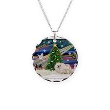 XmasMagic/Pekingese (4w) Necklace
