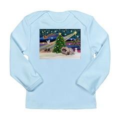 XmasMagic/Pekingese (R) Long Sleeve Infant T-Shirt