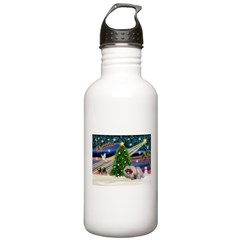 XmasMagic/Pekingese (R) Water Bottle