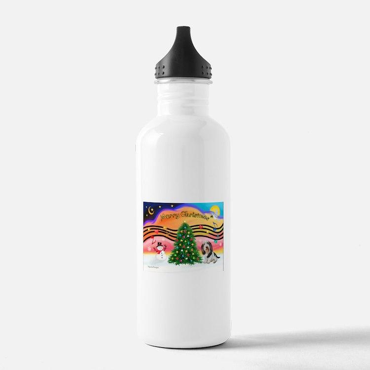 XmasMusic2/PBGV #5 Water Bottle