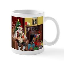 Santa's Petit Basset Mug