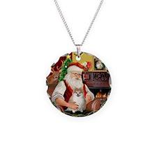 Santa's Pomeranian #1 Necklace