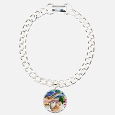 XmasMagic/2 Pomeranians Bracelet