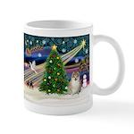 Christmas Magic & Pomeranian Mug