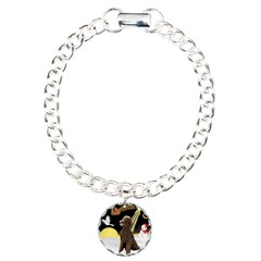 Night Flight/Poodle Std(choc) Bracelet