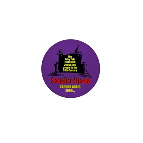 Socialist Fairy Tale Mini Button (100 pack)