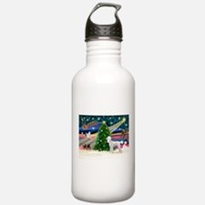 Xmas Magic & Poodle Water Bottle