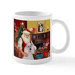 Santa's Std Poodle(w) Mug