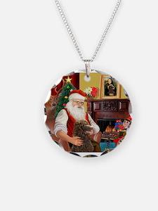 Santa's Std Poodle(c) Necklace