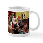 Santa's Poodle (ST-B4) Mug