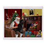 Santa's PWD Throw Blanket