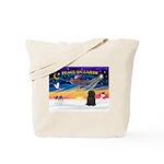 XmasSunrise/Puli #1 Tote Bag
