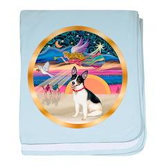 XmasStar/Rat Terrier baby blanket